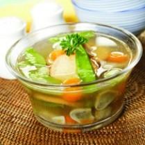 Cara memasak sup tahu, resep sup tahu jamur yang enak