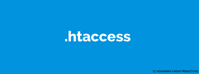 how to write htaccess file