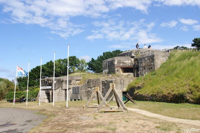 Esterno del memoriale 39/45 della Cité d'Aleth