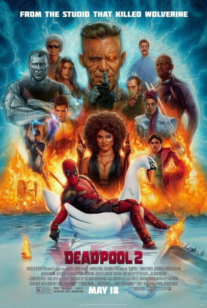 New \'Deadpool 2\' Poster Replaces TJ Miller With A Kitchen Sink ...