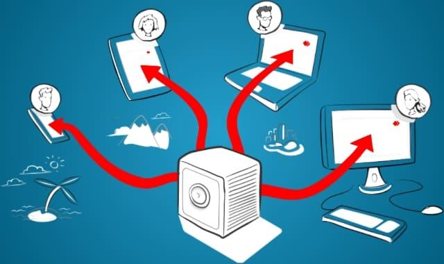 برنامج AnyDesk لتحكم بالكمبيوتر البعيد