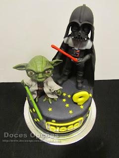 bolo star wars bragança doces opções