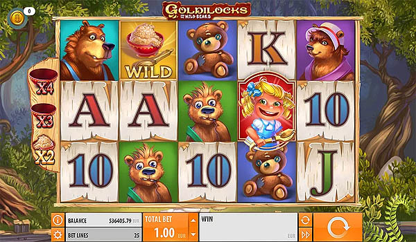 Main Slot Gratis Indonesia - Goldilocks (Quickspin)