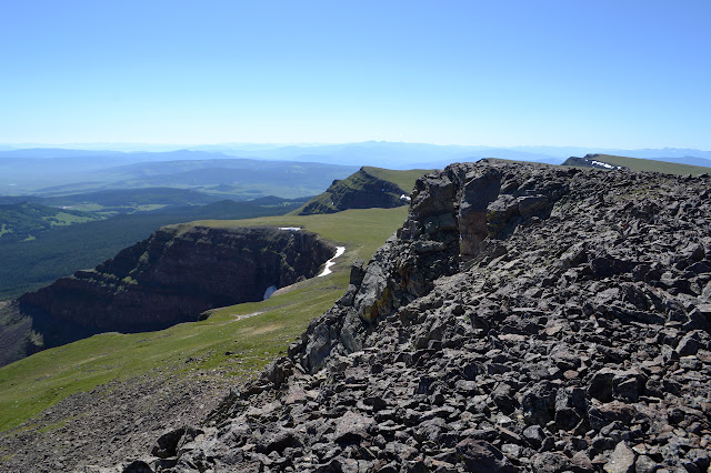 more cliffs below a cliff
