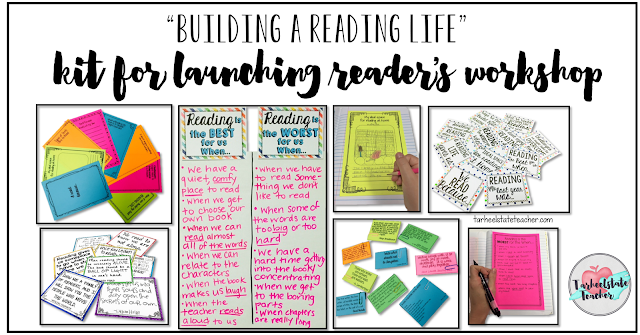 Launching the readers workshop can be daunting, but you can instill a love of reading in your upper elementary students with the tips in this blog post.