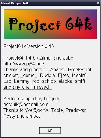 Project64K7E