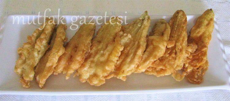 kabak çiçeği tempura