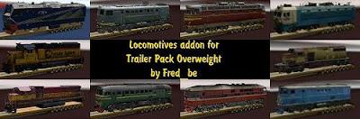 Trailer lokomotif