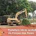 Prefeitura inicia revitalização do Parque das Flores