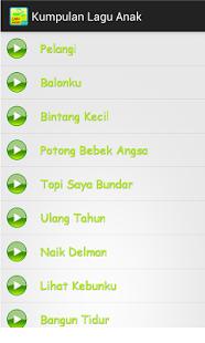 Kumpulan Lagu Anak-anak 1.4.3 APK For Android Terbaru
