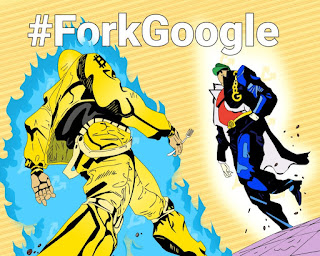 #ForkGoogle حرب غوغل الصامت على العملات المشفرة
