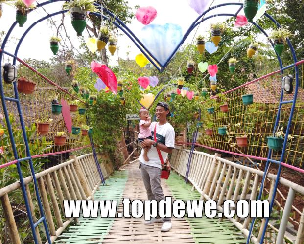 Spot selfie wisata kampung kahuripan purwakarta