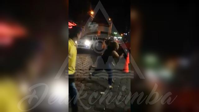El Parqueo de un Bar de Managua