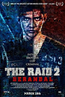 Film The Raid 2 - Berandal