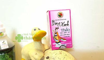 Dáng Xinh Thảo, hỗ trợ làm giảm nguy cơ béo phì, bụng to