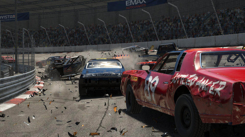 Wreckfest Coming On August 27th For PS4 And Xbox One