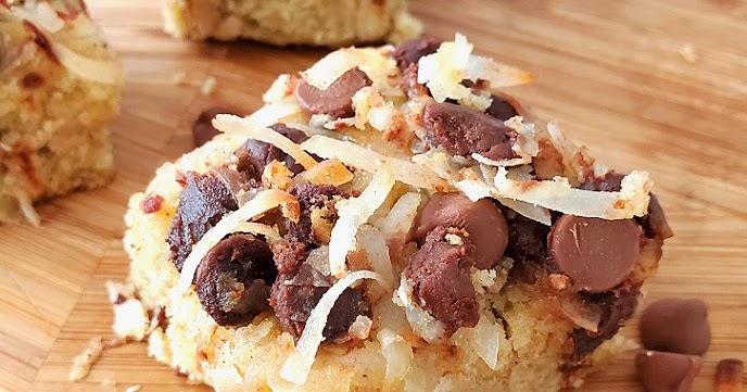 Shortbread Magic Cookie Bars