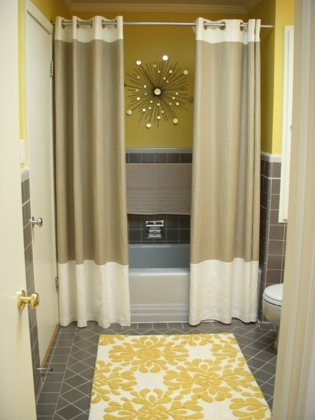 Attractive My C Ray Of Life Ruffle Shower Curtain