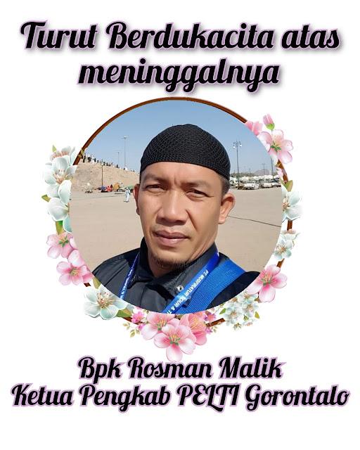 Ketua Pengkab PELTI Gorontalo Tutup Usia, Ketum PP PELTI Rildo Ananda Anwar Ucapkan Belasungkawa