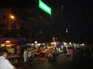 Exterior del Mercado Ben Thanh. Ho Chi Minh. Vietnam