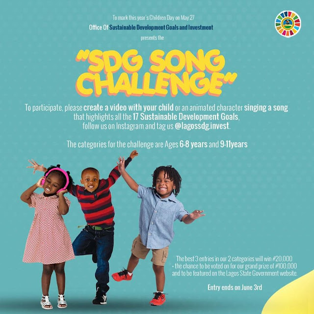 Lagos State SDG Song Challenge 2020 | Win Over N100K Prizes