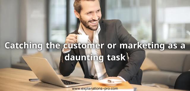 Marketing as a daunting task