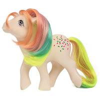 My Little Pony Classic Series Retro Confetti Year 3 Rainbow Pony