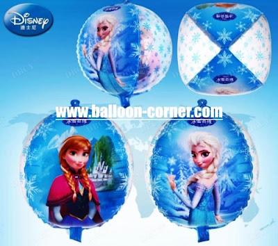 Balon Foil Bola FROZEN