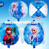 Balon Foil Bola FROZEN (UKURAN BESAR)