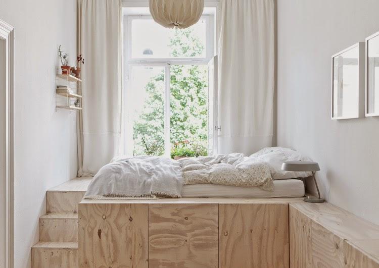 Mi rinc n de sue os hacer camas con espacio para almacenar - Camas de obra ...