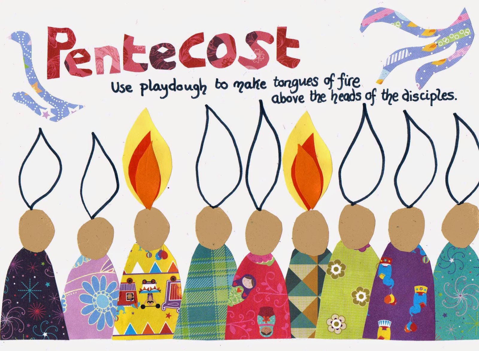 Image result for messy church pentecost