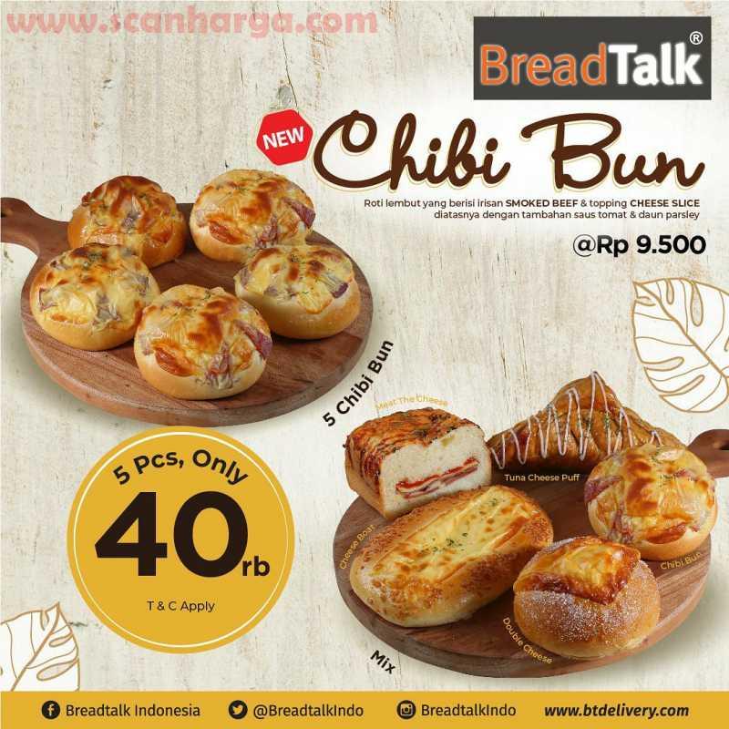 Promo Breadtalk Chibi Bun Terbaru Juli 2020