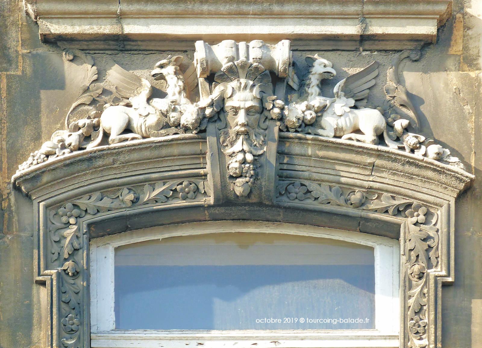 Masques et chimères - Monastère des Bénédictines, Tourcoing.