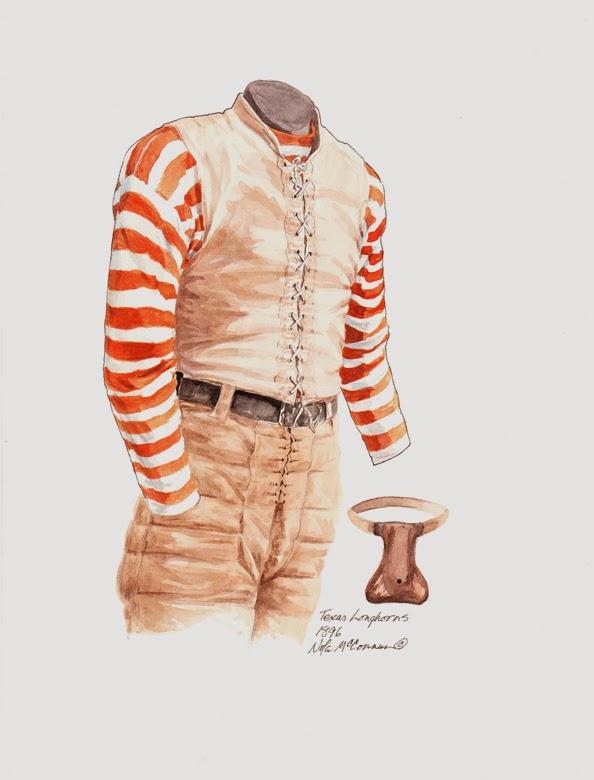 buy popular 9e7d1 409fd University of Texas Longhorns Football Uniform and Team ...