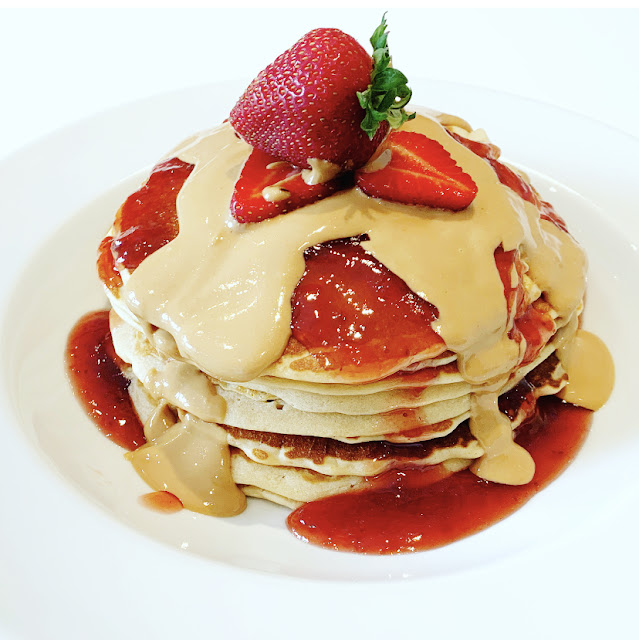 Skippy® Peanut Butter & Jelly Pancakes