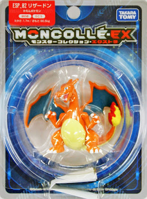 Charizard figure Takara Tomy Monster Collection MONCOLLE EX ESP series