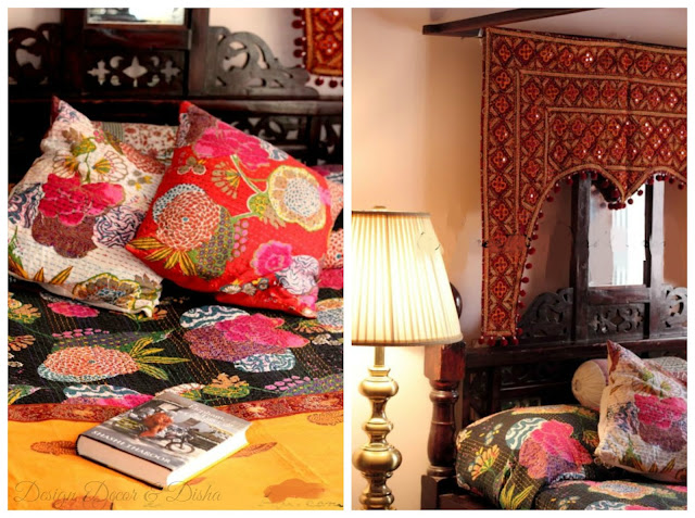 Ethnic Indian Bedroom