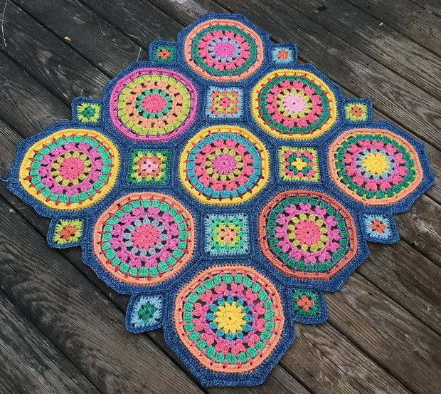 Granny Square And Octagon Motifs