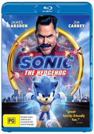 Sonic The Hedgehog 2020 BRRip 300Mb Hindi Dual Audio ORG 480p