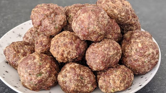recette, boulettes de viande,boulettes boeuf, boulettes maison, recette rapide, recette au four, étape par étape