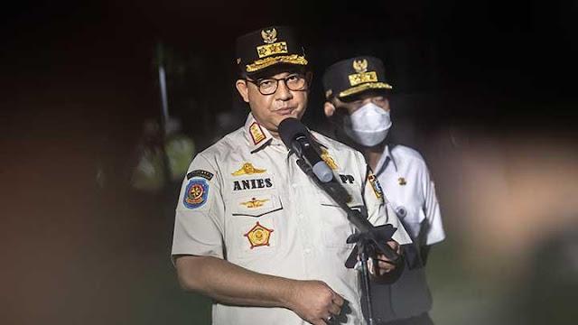 DKI Keluar dari Zona Merah, Anies Ingatkan Ada Resiko Covid-19 Naik