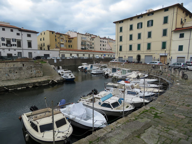 Scali San Lorenzo and the Navicelli Canal, Livorno