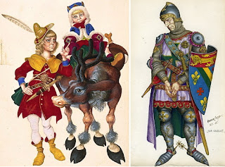 A comparison between modern day characters and three characters in geoffrey chaucers the canterbury
