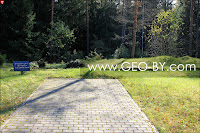 Налибокская пуща. Дзержиново. Фундамент дома, где родился Ф.Э.Дзержинский