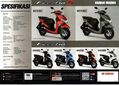 Spesifikasi Motor Yamaha Freego