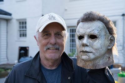 Halloween 2018 Set Photo Nick Castle