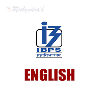 English Language For IBPS Clerk | 01 - 12 - 17