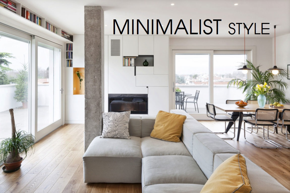 Phong cách thiết kế tối giản  - Minialism