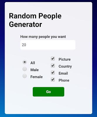 Card Generator HTML Script Free Download