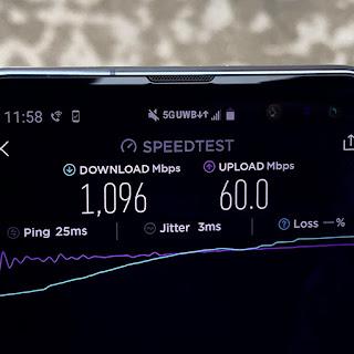 Kecepatan 5G